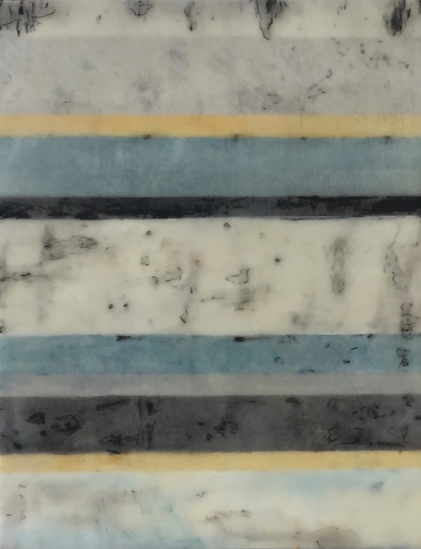 Mitchell Visoky Paintings Encaustic on Cradled Panel