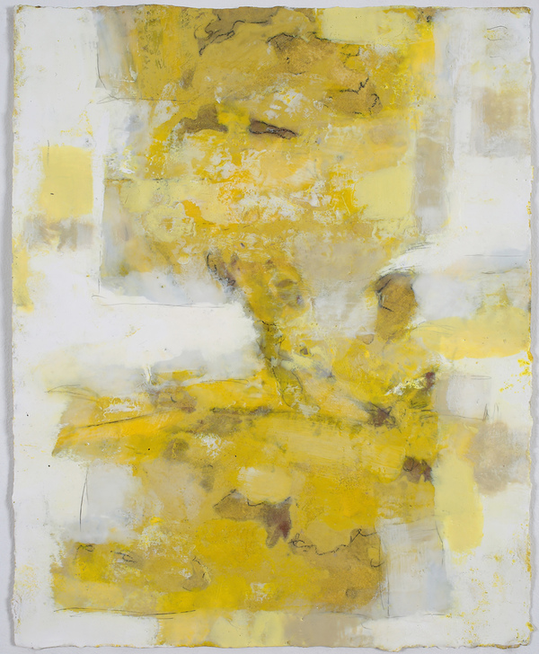 Mitchell Visoky Paintings Encaustic wax, litho pencil on paper