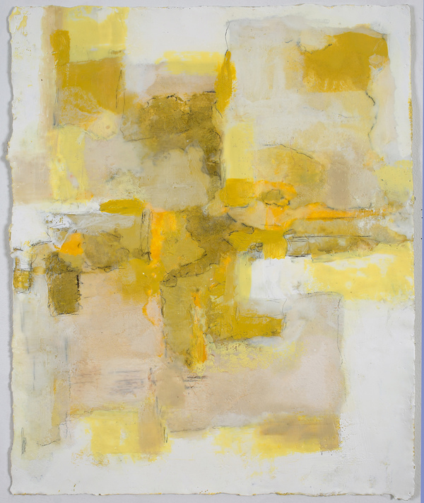 Mitchell Visoky Paintings Encaustic wax , litho pencil on paper