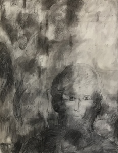Mitchell Visoky Drawings Charcoal
