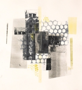 Mitchell Visoky Monotypes Monotype on paper