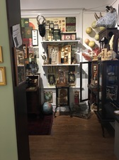 Wendy Aikin The Curator's Office, Museum of Curious Perceptions Mixed Media Installation