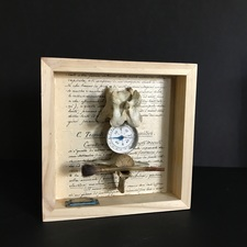 Wendy Aikin Assemblage Mixed Media