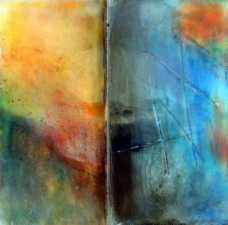 Wendy Aikin The Line Series Encaustic Mixed Media