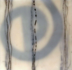 Wendy Aikin The Alphabet Series Encaustic Mixed Media
