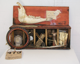 Wendy Aikin Paintings & Assemblage Mixed Media Assemblage
