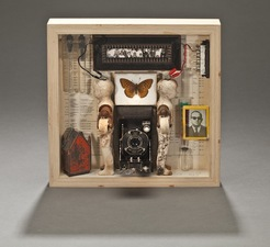 Wendy Aikin Paintings & Assemblage Mixed Media
