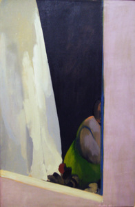 William Clutz Paintings oil on canvas, 47 x 30 inches