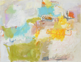 Wilson Avenue Loft Artists LORI GLAVIN oil on paper