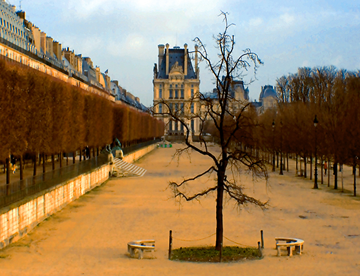 View Collection: Cityscapes Palais du Louvre / Jardin des Tuileries, Paris, France 2011