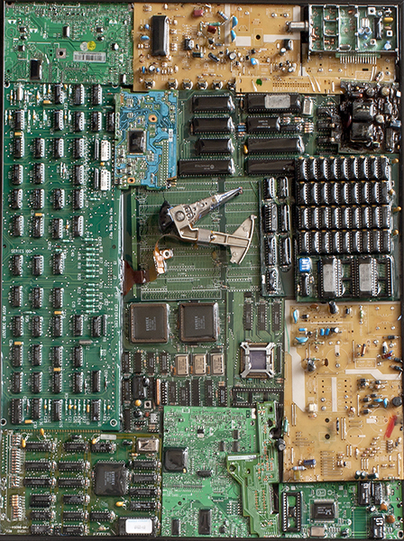 ASSEMBLAGE Random Green Chip Boards