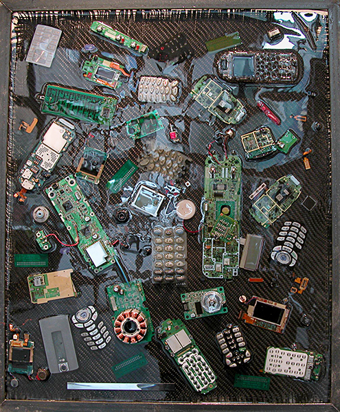 ASSEMBLAGE Cell Phone #1