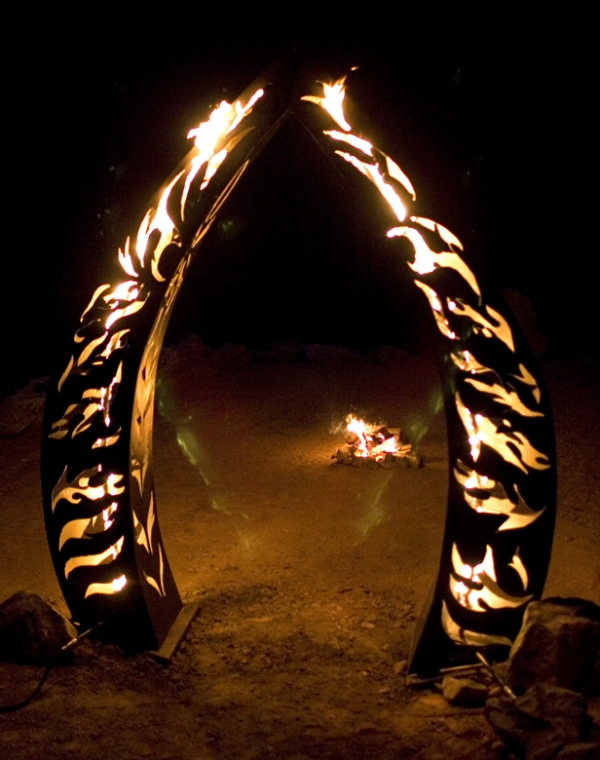 PUBLIC ART / COMMISSIONS Fire Portal Sculpture Commission