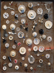 Wilson Hughes gallery - contemporary fine art & craft  / 117 Campbell Avenue SW  / Roanoke VA  /  540.529.8455 ASSEMBLAGE
