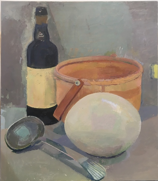 Paintings Still Life with Ostrich Egg