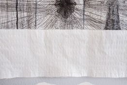 Marie Yoho Dorsey Works on Paper Etching and Hand-embroidery on Gampi