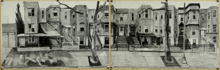 Craig Eastland Brooklyn / <br>Incarceration graphite on paper