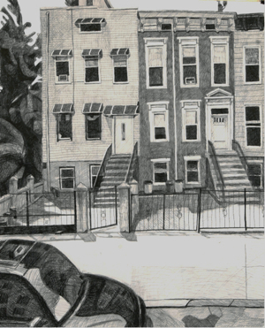 Craig Eastland Brooklyn / <br>Incarceration ink, gouache & graphite on paper