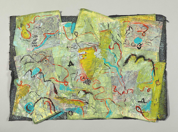 Zia Gipson Felted Paper Drawn/Painted
