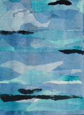 Abby DuBow Clouds Monotype