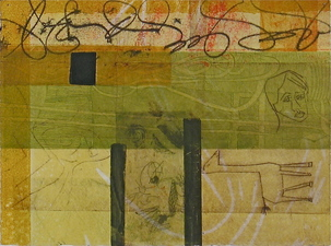 Abby DuBow Small Works Monotype