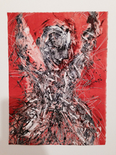 Abby DuBow Mud Dancers Monotype