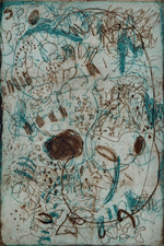Abby DuBow Scribbles Etching