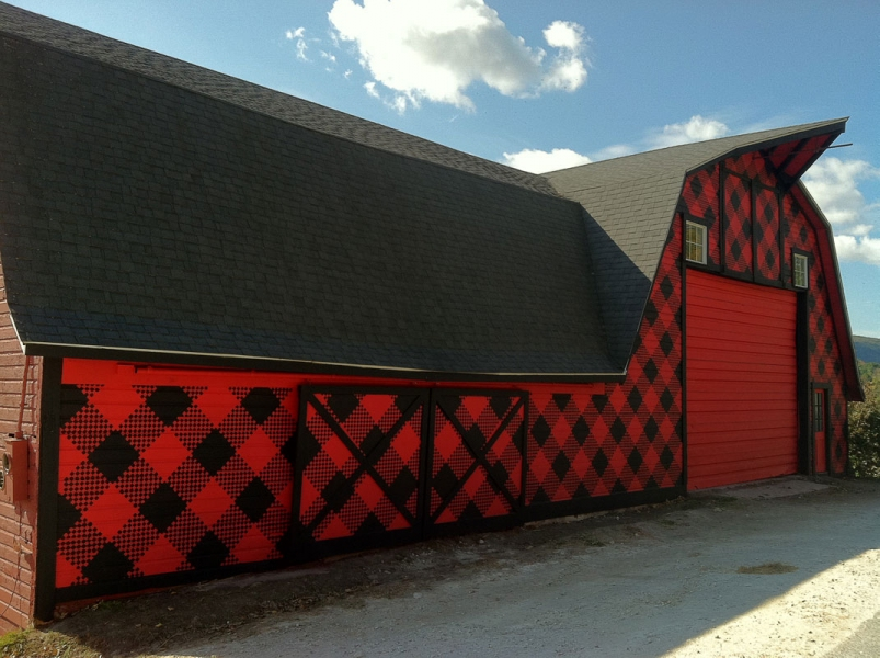 Murals Red and Black Plaid: AbbyAbby for CABOT