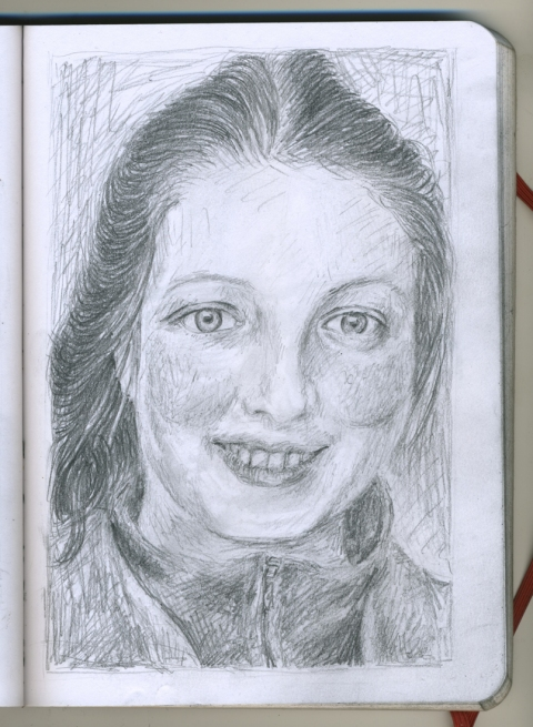 Pencil Portraits josephine