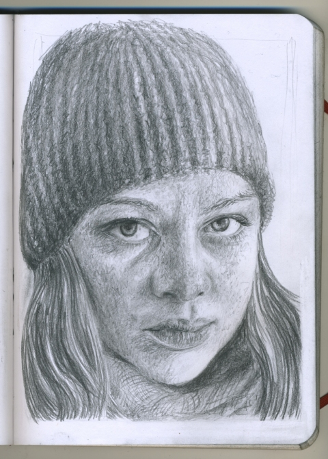 Pencil Portraits thyra