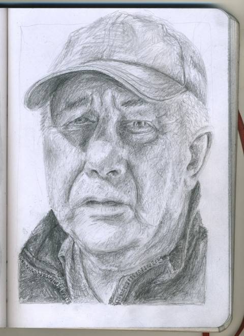 Pencil Portraits jerry
