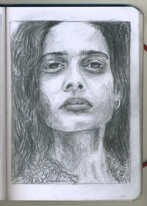 Pencil Portraits aparna