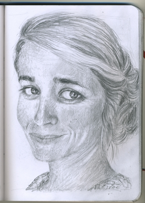 Pencil Portraits cecliy