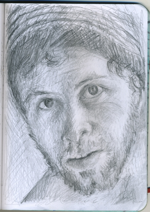 Pencil Portraits zach