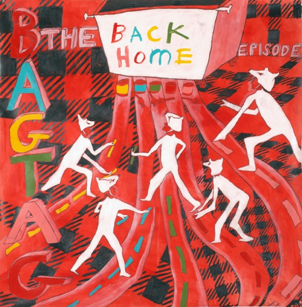 BAG TAG Episode Back Home, Documentary Drawing, RED