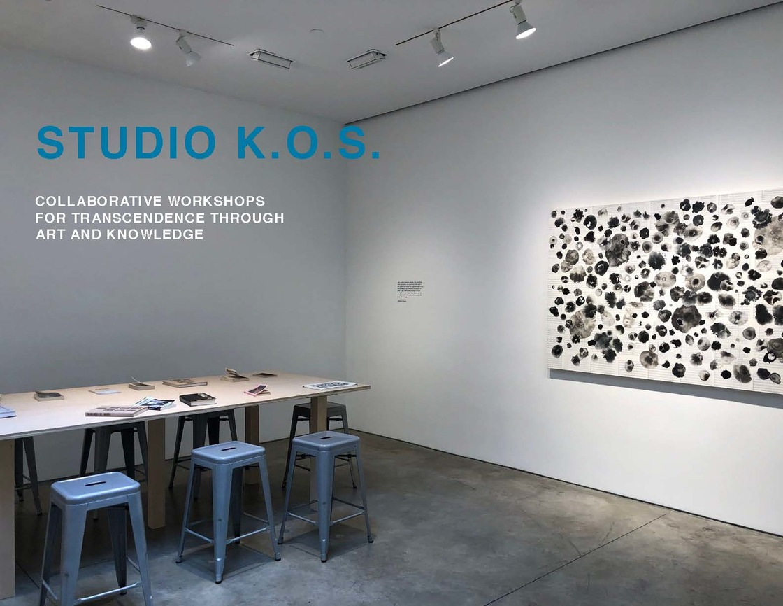 Abreu Projects STUDIO K.O.S.- Re-Invented (Collaborative Workshops for Transcendence Through Art And Knowledge)