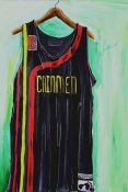 Adam Taye Jersey Paintings acrylic on canvas