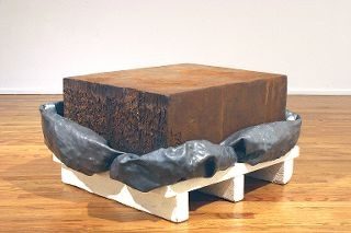 Adam Welch Art - Selected Works Pile (old) Fabricated steel, lead, wood