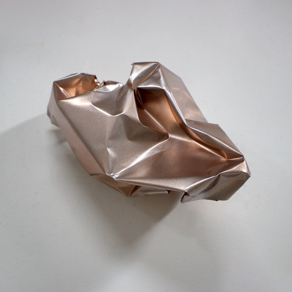 Sculpture Acrylic on copper
