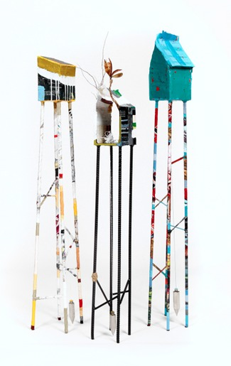 Living on Stilts 2012: Sculptures