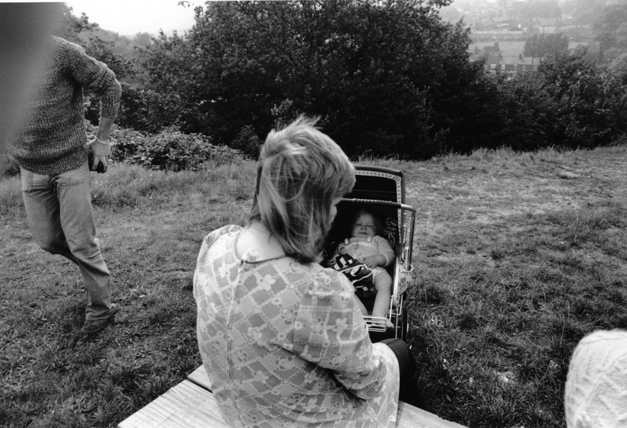 UK 1974 Woman and baby