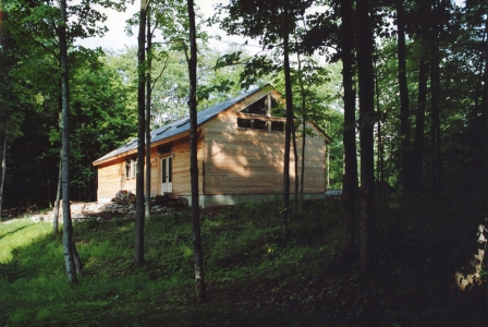 ALAN BAER ARCHITECT Artist's Studio, Upstate NY