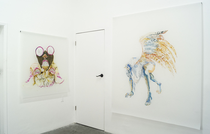 Alexandra Carter Installation images Radiant Space, Los Angeles