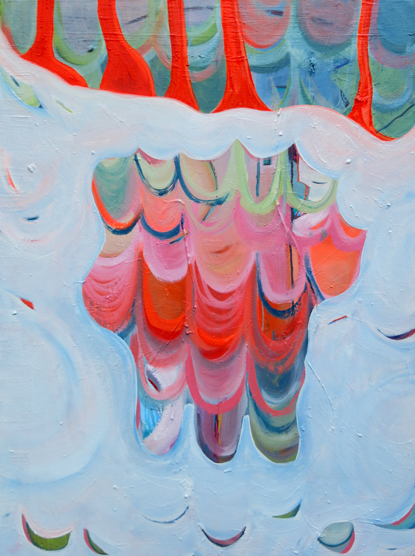 Alexandra Rutsch Brock Paintings 2016 oil on canvas