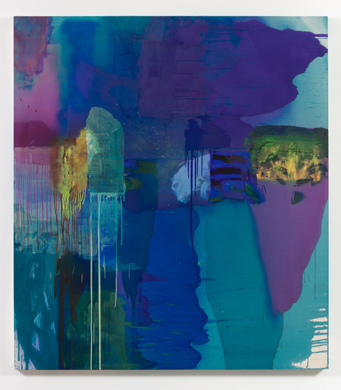 Alexander Kroll Paintings Acrylic, Pumice and spray paint on canvas