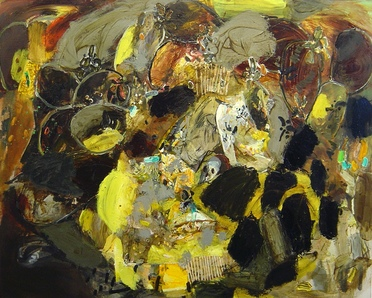 Alfredo Gisholt 2004 oil on canvas