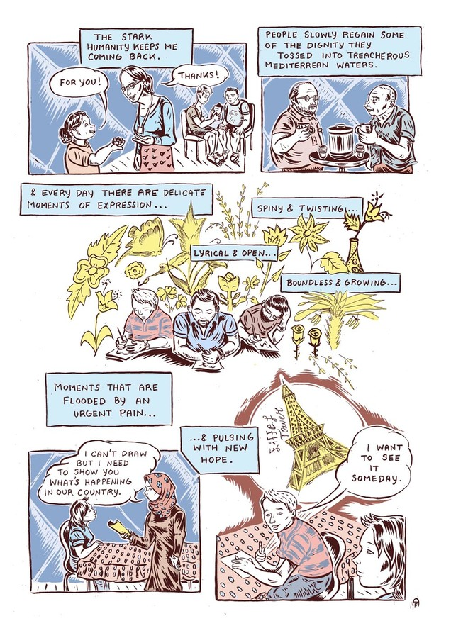 Ali Fitzgerald Comic Teaching Project