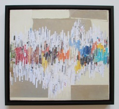 ALI HERRMANN Abstracts mixed media encaustic collage