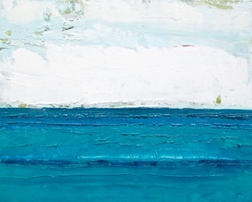 ALI HERRMANN Out to Sea Series oil on panel