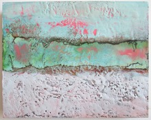 ALI HERRMANN Abstracts encaustic